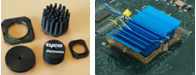 Commercial heat sink clip and ATS maxiGRIP heat sink clip